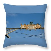 Sign From The Past Throw Pillow