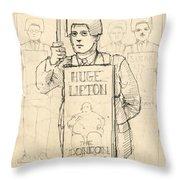 Sign Men Throw Pillow