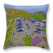 Signal Hill National Historic Site In Saint John's-nl Throw Pillow