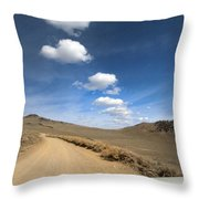 Signals ... Along The Bristlecone Pine Highway, White Mountains, California.  Throw Pillow