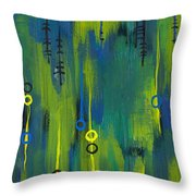 Signals Throw Pillow