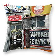 Signs Of Our Times 1 Throw Pillow