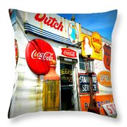 Signs Of Our Times  Throw Pillow