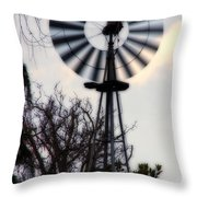 Signs Of The Approaching Storm Throw Pillow