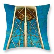Sikeston Water Tower Iv Throw Pillow