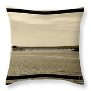 Silance Bridge Throw Pillow