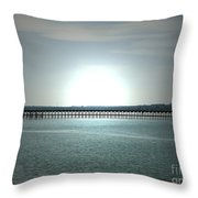 Silence 2 Throw Pillow