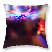 Silence Of The Noise Throw Pillow