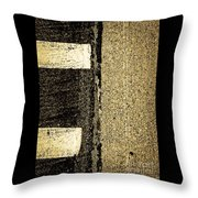 Silent Confrontations Throw Pillow