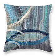 Silent Drizzle II Throw Pillow