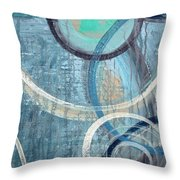 Silent Drizzle Throw Pillow