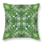 England Silent Forest One Throw Pillow