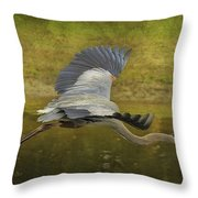 Silent Grace Throw Pillow