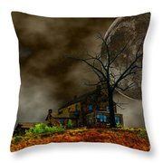Silent Hill 2 Throw Pillow by Dan Stone