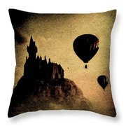 Silent Journey  Throw Pillow
