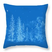 Silent Night  Holy Night Throw Pillow