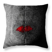Silent Partner Throw Pillow
