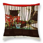 silent place Nr.6 Throw Pillow