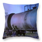 Silent Running Throw Pillow