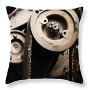 Silent Spinning Throw Pillow