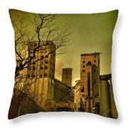 Silent They Stand Throw Pillow