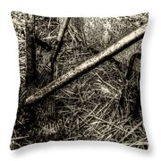 Silent Workers Throw Pillow
