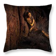 Temple Of The Dawn Throw Pillow