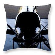 Silhouette Hanger Throw Pillow