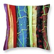 Silk Fabric 01 Throw Pillow