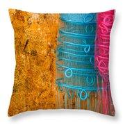 Silk Fabric 05 Throw Pillow