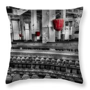 Silk Mill  Throw Pillow
