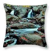 Silky Water 3 Throw Pillow