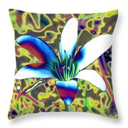 Silly Lilly Throw Pillow