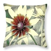 Silly Suzans Throw Pillow