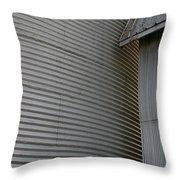 Silo Structure Throw Pillow