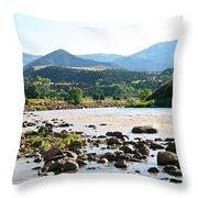 Silt Colorado Throw Pillow