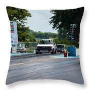 Silver Dodge Omni Glhs - 03 Throw Pillow