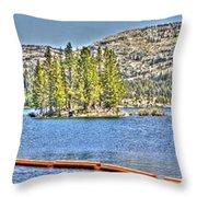 Silver Lake 2 Throw Pillow