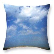 Silver Lake Sand Dunes 2.0 Throw Pillow