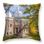 Silver State Autumn Throw Pillow