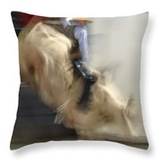 Silver State Stampede 2014 Bull Rider Throw Pillow