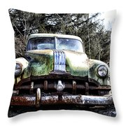 Silver Streak 8 Throw Pillow
