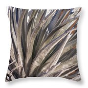 Silversword Detail Throw Pillow