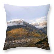Silverton Colorado Throw Pillow