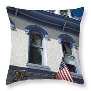 Silverton Hotel Throw Pillow