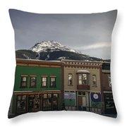 Silverton Street Scene Throw Pillow