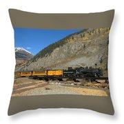 Silverton Train Throw Pillow