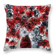 Simfoni Of Love Throw Pillow