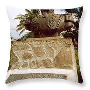 Simon Bolivar (1783-1830) Throw Pillow by Granger