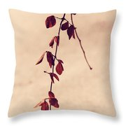Simple Branch Throw Pillow